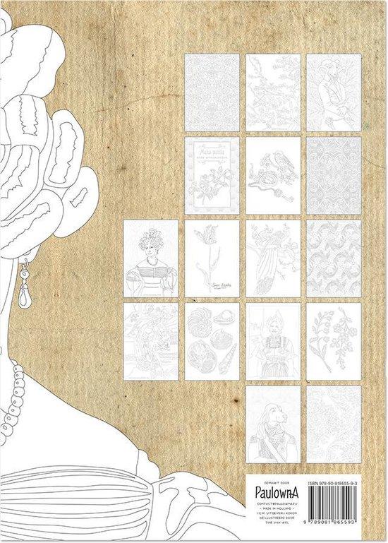 Kleurboek voor volwassenen met quotes | leuk alternatief voor het mandala kleurboek | Victorian style Adult colouring book | 19de eeuws kleurboek voor volwassen | A4