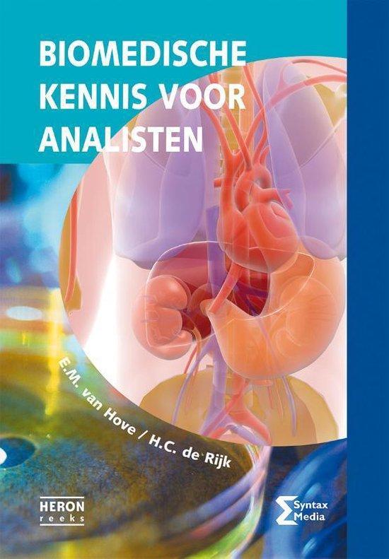 Boek cover Heron-reeks  -   Biomedische kennis voor analisten van E.M. van Hove (Paperback)