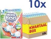 Witte Reus Kracht Actief Toiletblok - Pro Nature Grapefruit - WC Blokjes Voordeelverpakking - 10 Stuks