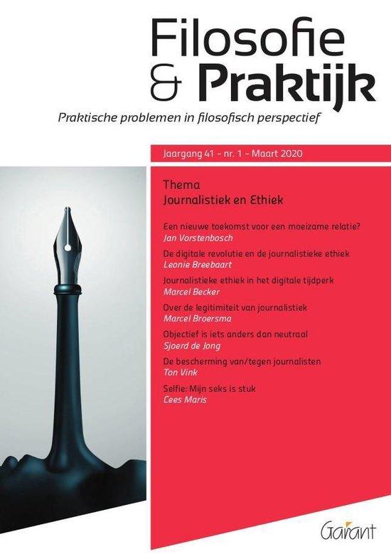 Boek cover Journalistiek en ethiek. van Leonie Breebaart (Paperback)