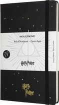 Moleskine Limited Edition Notitieboek Harry Potter Large (13x21 cm) Gelinieerd Black