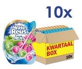 Witte Reus Toiletblok Geur Switch - Appel Waterlelie - Voordeelverpakking - 10 stuks