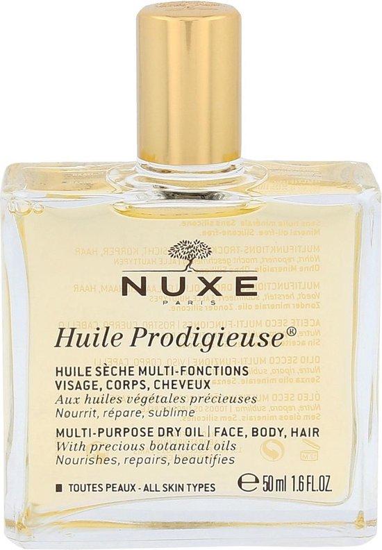 Nuxe Huile Prodigieuse Olie - voor Gezicht, Lichaam en Haar - 50 ml