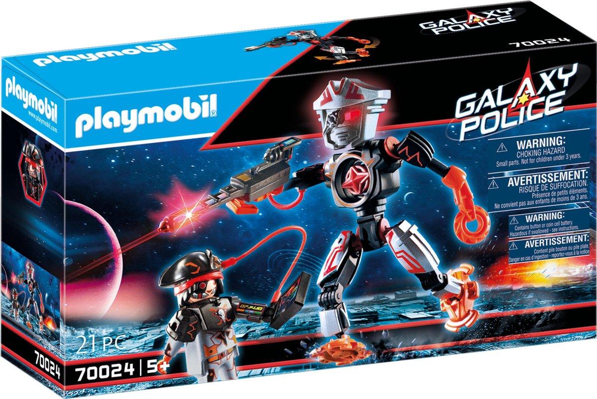 PLAYMOBIL Galaxy Police Galaxy piratenrobot - 70024