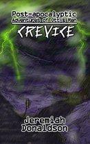 Omslag Post-Apocalyptic Adventures of Ott & Ren: Crevice