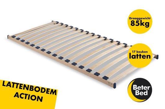 Beter Bed Action Lattenbodem - Hout - 80x200cm - Beter Bed Basic