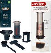 Aeropress Coffee Maker + Bristot OUR Biologische gemalen koffie