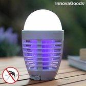 Innovagoods - Anti-Muggenlamp 2 in 1  Oplaadbaar – Camping Lamp