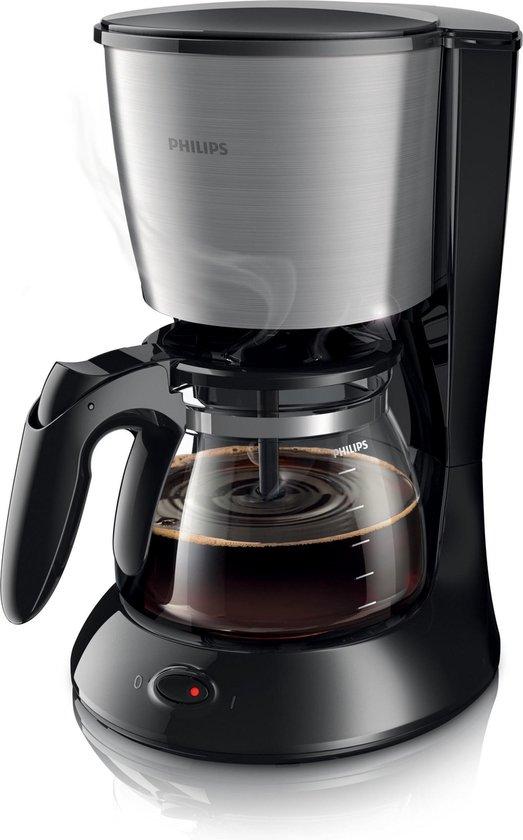 Philips Daily HD7462/20 - Koffiezetapparaat - Zwart/zilver