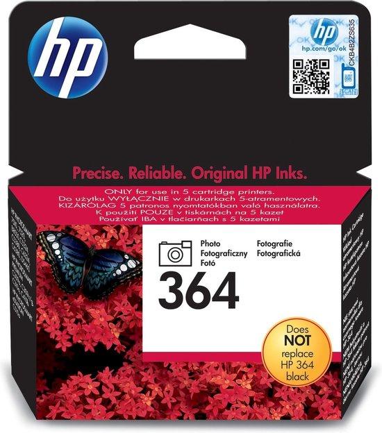 HP 364 - Fotocartridge / Zwart