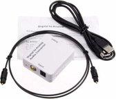 Digitaal naar Analoog Audio Omzetter - Audio Converter - Audio Omvormer Set - DAC