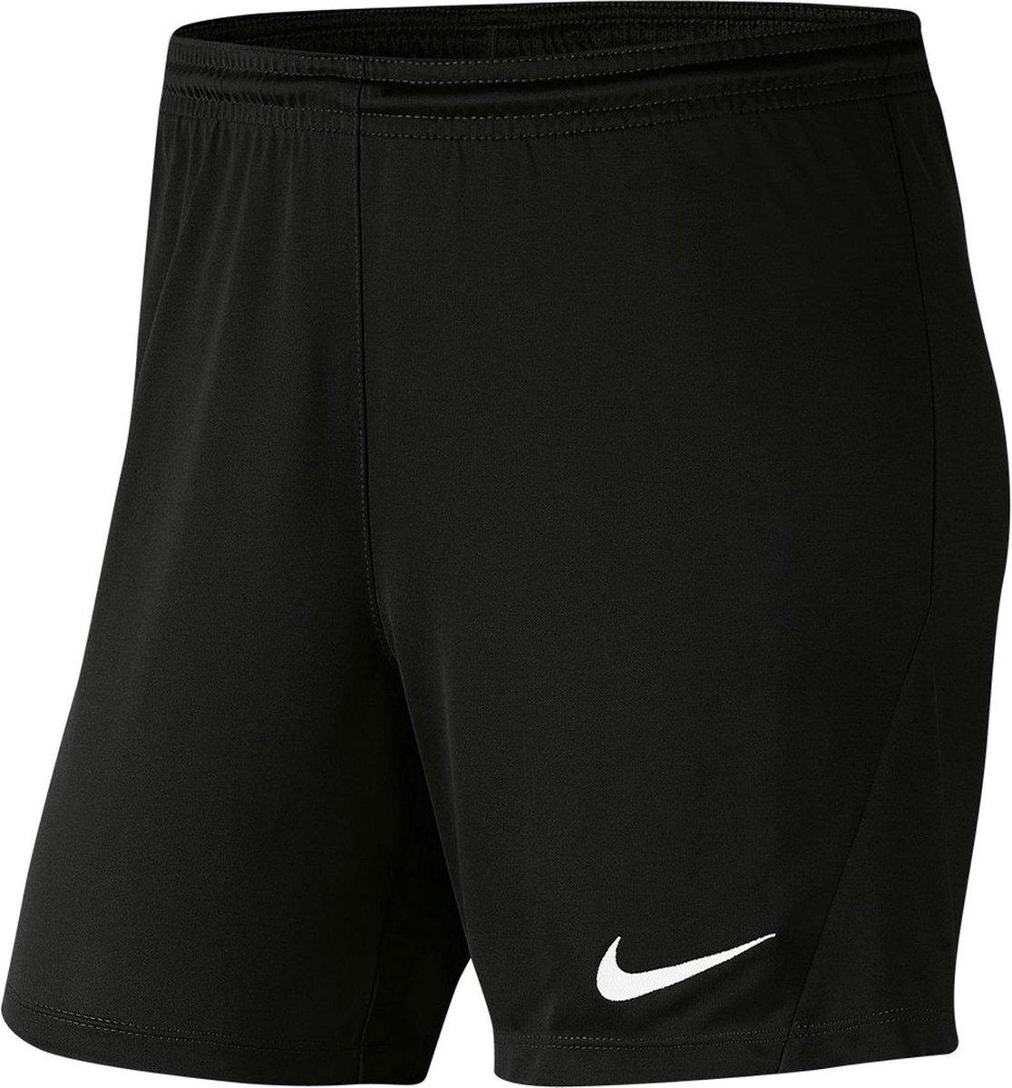 Nike Dri-FIT Park 3 Vrouwen Sportbroek - Black/White - Maat M
