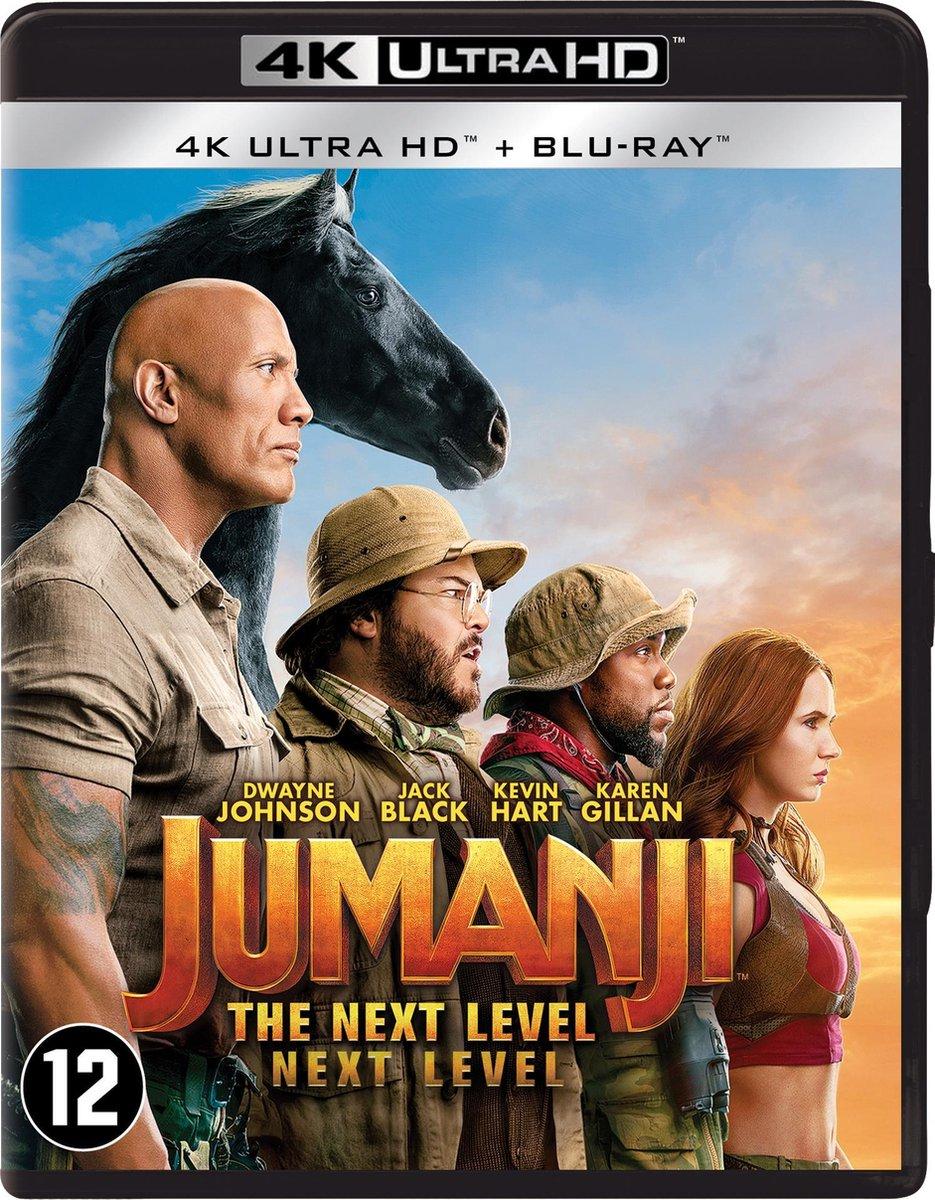Jumanji: The Next Level (4K Ultra HD Blu-ray)-