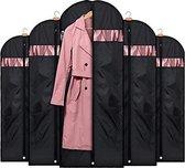 5 x Zwarte  Kledinghoes - 60 x 120 cm - Wasmachine Bestendig - E-Shoppr®