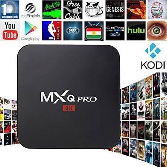 Mxq Pro mediaplayer Android