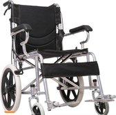 Lichtgewicht, compacte transport rolstoel