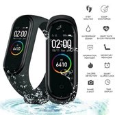 DrPhone – K1 - Activity tracker / Slimme Horloge Voor Kids - Berichten lezen - Hartslagmeter - Sportfunctie - Zwart
