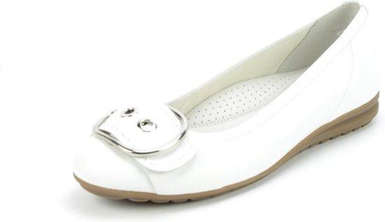 Gabor Easy Walking Witte Ballerina's Dames 40,5 Tgv6Dm