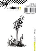 Carabelle cling stamp mini mailbox