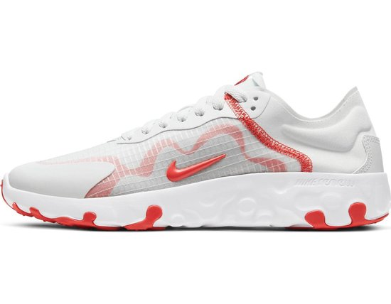 Nike Renew Lucent Dames Sneakers - Photon Dust/Track Red-White-Grey Fog - Maat 43 KCt33V0d