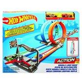 Hot Wheels Action Dubbele Loopingrace Speelset