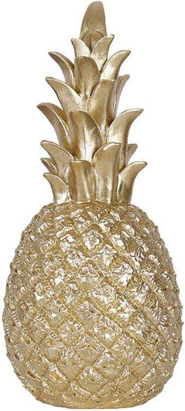 Ananas Decoratie Goud – Beeld 20cm