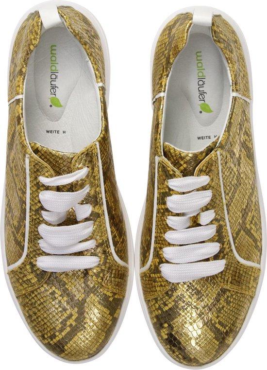 Waldlaufer Vrouwen Sneakers - 763001 Goud Maat 38 vUEIlI