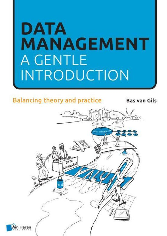Boek cover Data Management van Bas van Gils (Paperback)