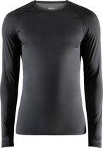 Craft Pro Dry Nanoweight Ls M Sportshirt Heren - Black