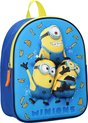 Minions Express Yourself (3D) Kinderrugzak 3D - 9,3 l - Blauw