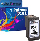 Tito-Express PlatinumSerie cartridges 1x Canon PG-545 XL Zwart alternatief voor Canon PG-545 XL Zwart
