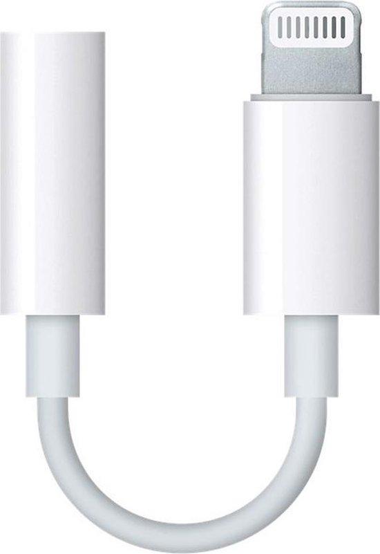 Apple lightning naar 3,5 mm Jack audio aansluiting adapter