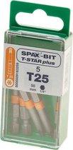 Spax bit t-star 50mm torx25(5st)