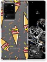 Samsung Galaxy S20 Ultra Siliconen Case Icecream