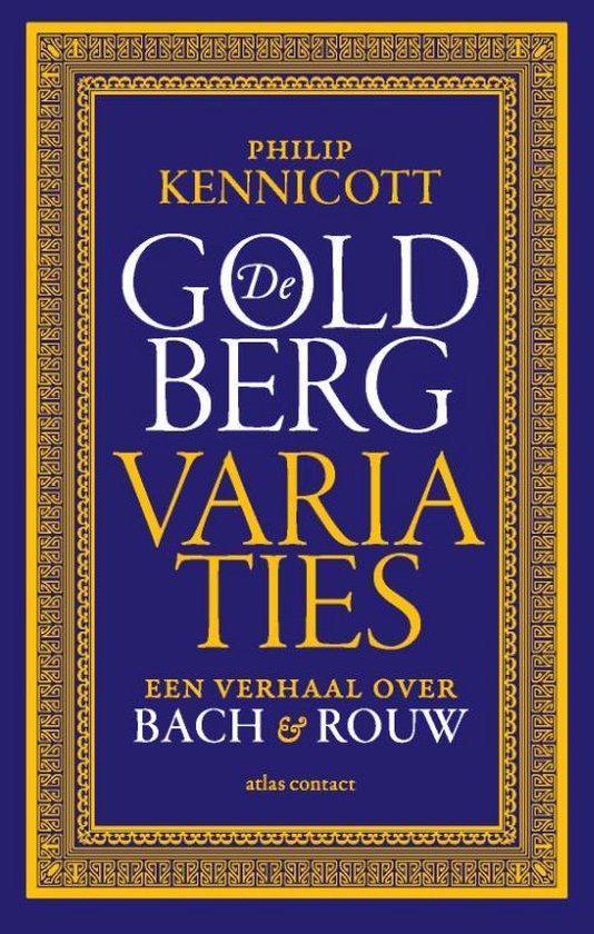 Boek cover De Goldbergvariaties van Philip Kennicott