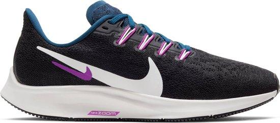 Nike Air Zoom Pegasus 36 Dames Sportschoenen - Black/Summit White-Valerian  Blue - Maat 40