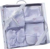 Gamberritos Babykledingset Beertje Wit/roze One Size 6-delig
