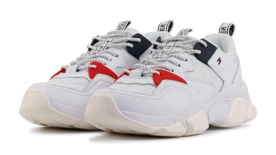 Tommy Hilfiger Vrouwen Sneakers - Chunky sneaker - Wit - Maat 39 XqsOrK4J