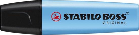 STABILO BOSS ORIGINAL Markeerstift Blauw - per stuk