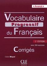 Vocabulaire progressif du français 2e édition - niveau avancé corrigés