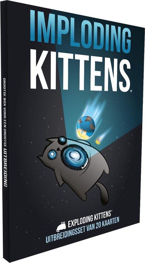Exploding Kittens Imploding Kittens Uitbreiding - Kaartspel