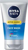 NIVEA MEN Active Energy Face Wash - 100 ml