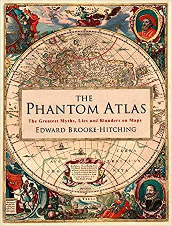 Boek cover The Phantom Atlas van Edward Brooke-Hitching (Hardcover)