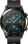 Huawei Watch GT 2- Zwart - Fluoroelastomer band