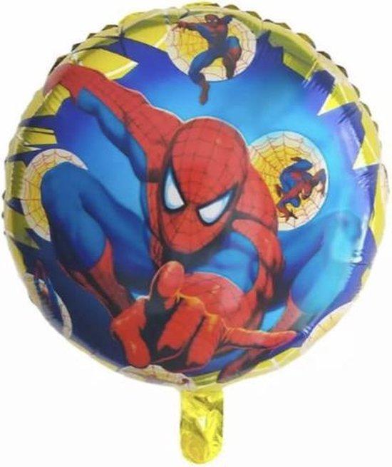 Spiderman Ballon Geel 18 Inch