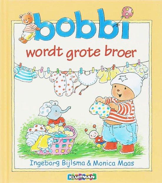 Boek cover Bijlsma, Ingeborg & Monica Maas - Bobbi wordt grote broer van Ingeborg Bijlsma (Hardcover)
