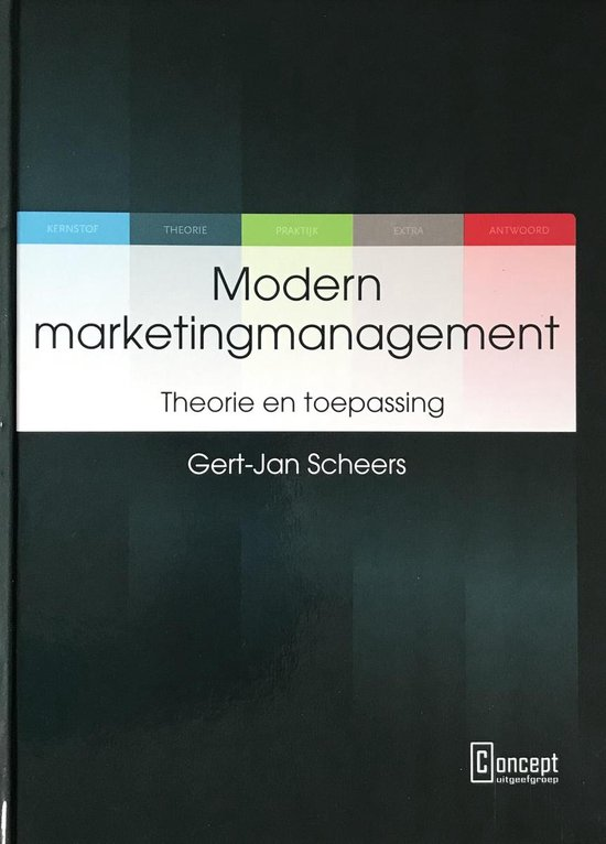 Modern marketingmanagement - Gert-Jan Scheers |
