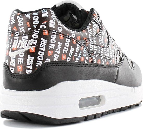 Nike Air Max 1 Premium - Just Do It - Heren Sneakers - Zwart 875844-009 - Maat 42