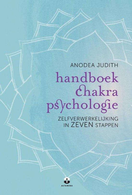 Boek cover Handboek chakra psychologie van Anodea Judith (Onbekend)