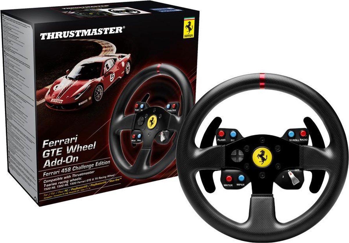 Thrustmaster Ferrari GTE 458 Racestuur uitbreiding PS3 + PS4 + PC